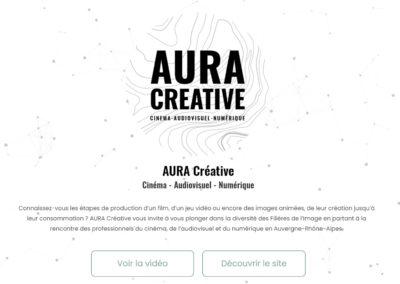 AURA Créative – Cinéma, Audiovisuel et Numérique
