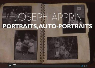 JOSEPH APPRIN, PHOTOGRAPHIES – DU REGARD À LA MÉMOIRE